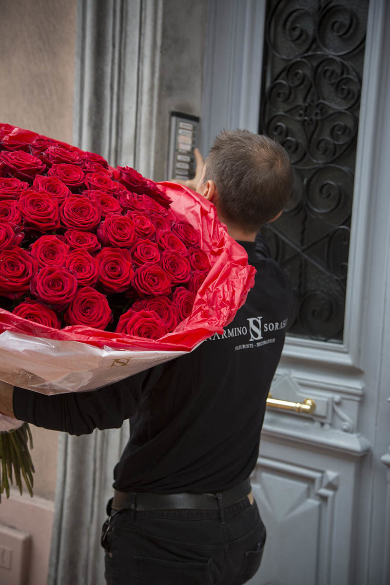 Bouquet De Fleur Pour St Valentin flowers and bouquets delivery to monaco | click'n flowers